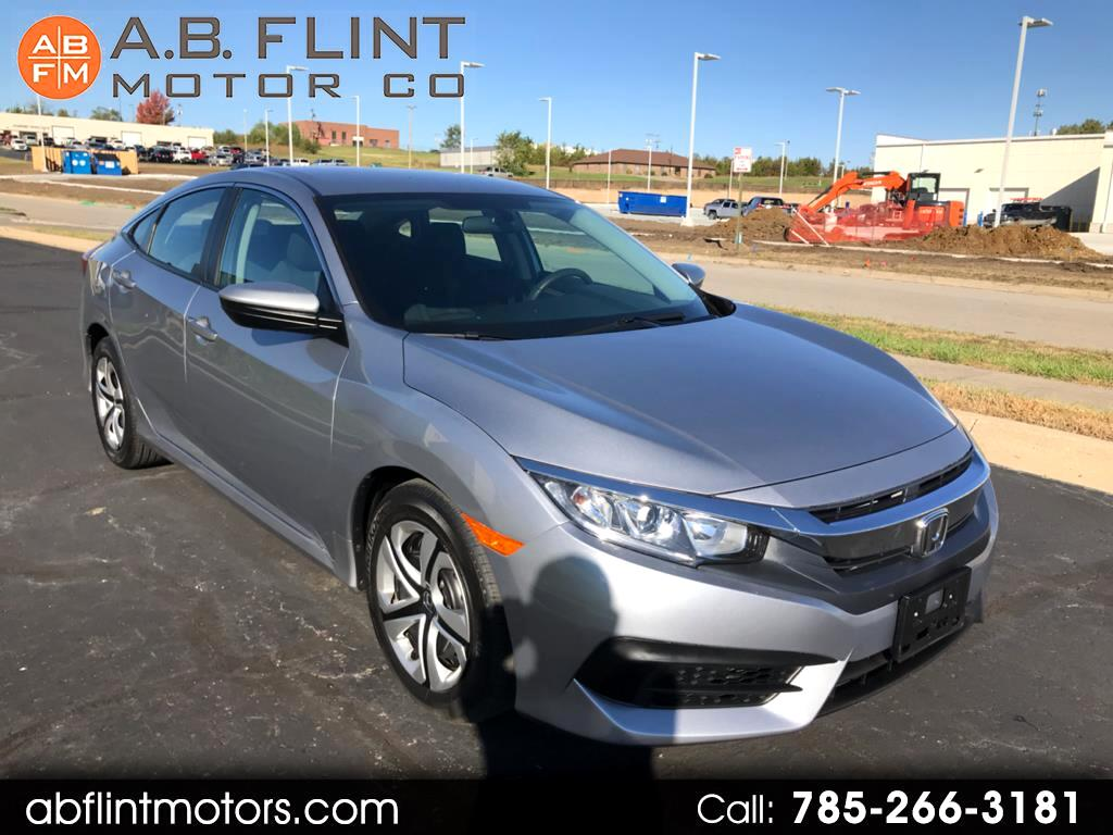 2017 Honda Civic Sedan 4dr AT LX