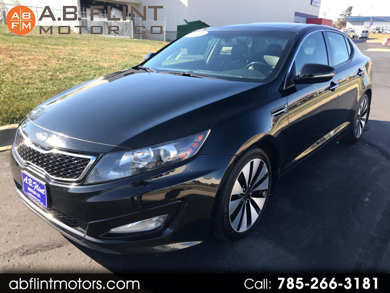 2012 Kia Optima 4dr Sdn SX w/Limited Pkg