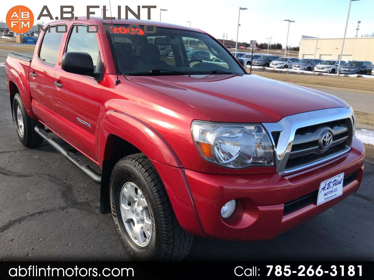 2009 Toyota Tacoma 4WD TRD Off Road Double Cab 5' Bed V6 MT (Natl)