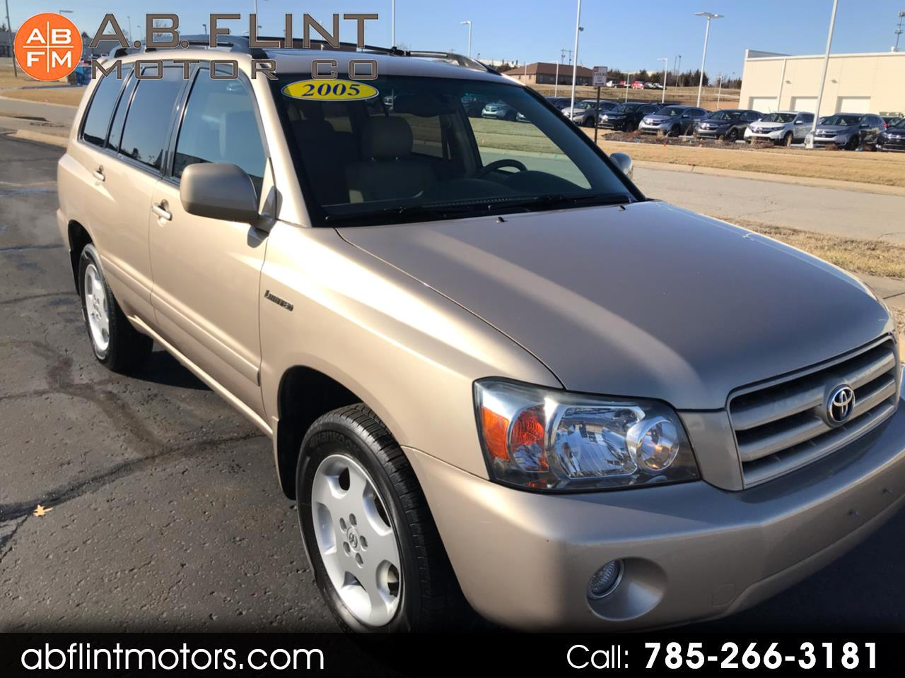 2005 Toyota Highlander Limited AWD V6