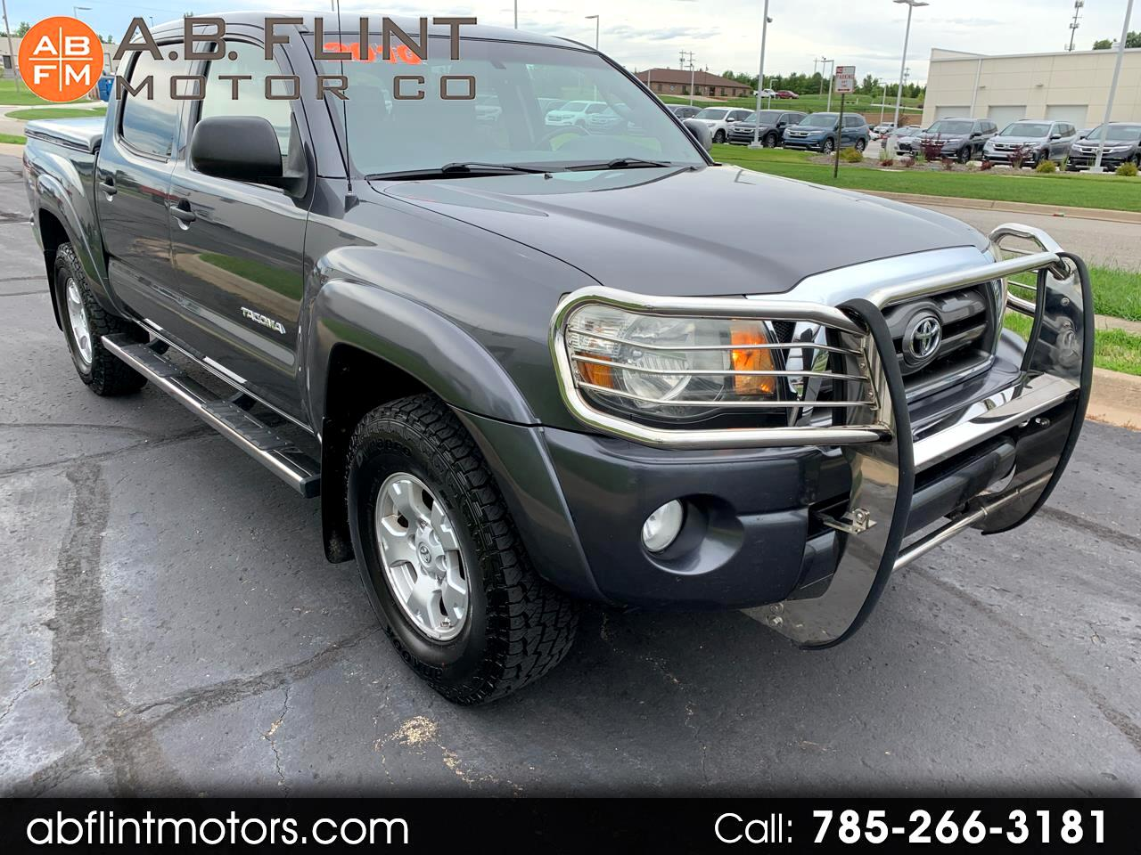 2010 Toyota Tacoma 4WD TRD Off Road Double Cab 5' Bed V6 MT (Natl)