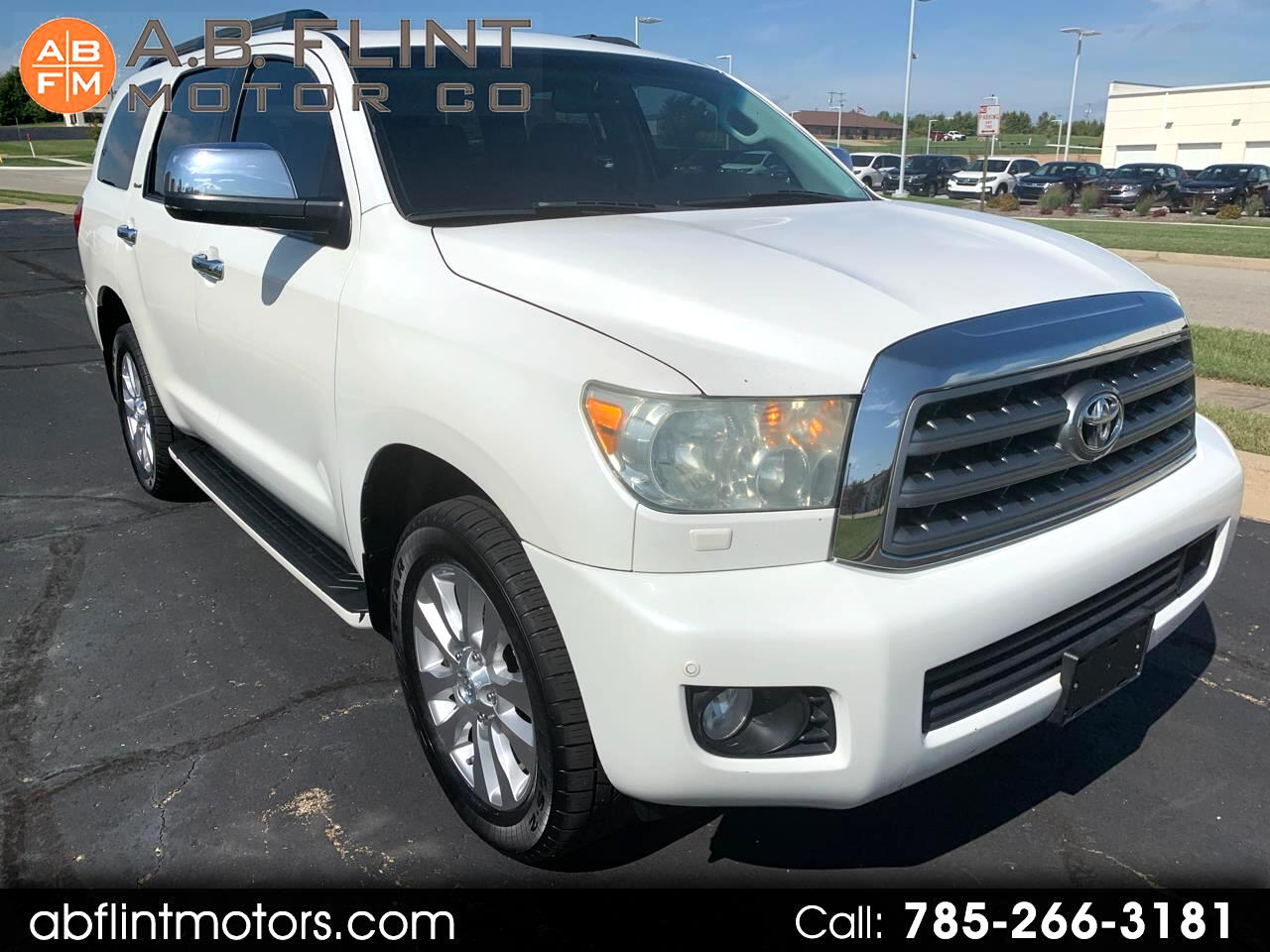 Toyota Sequoia 4WD 4dr LV8 6-Spd AT Platinum (Natl) 2010