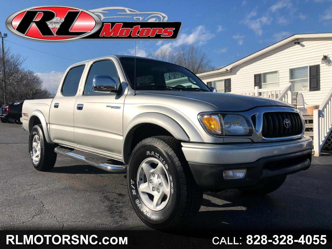 2002 Toyota Tacoma SR5 Double Cab 5' Bed V6 4x4 AT (Natl)