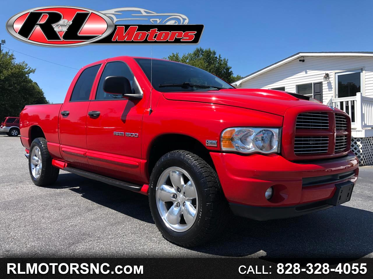 2004 Dodge Ram 1500 Laramie Quad Cab Short Bed 4WD