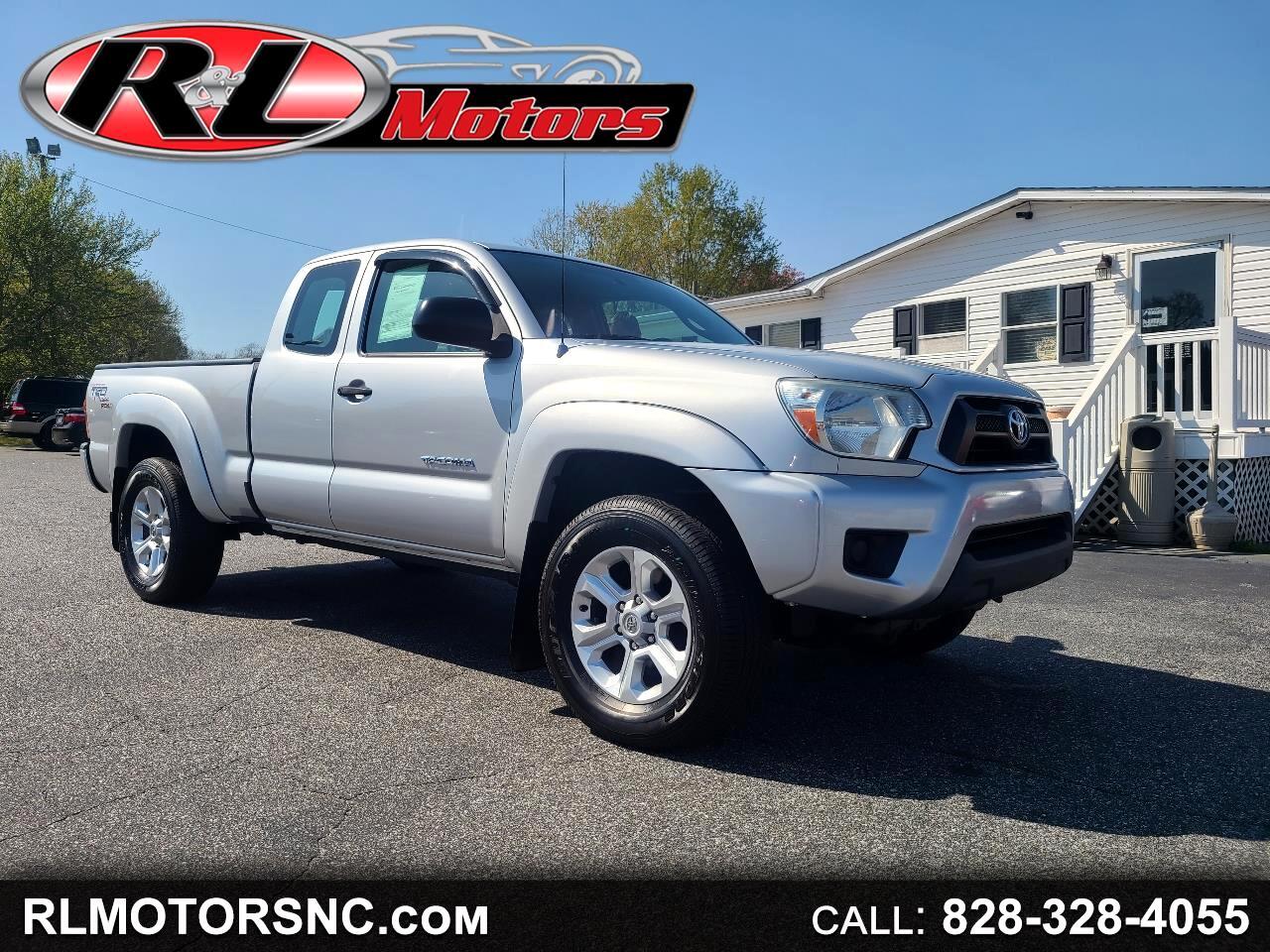 Toyota Tacoma Access Cab 4WD 2012