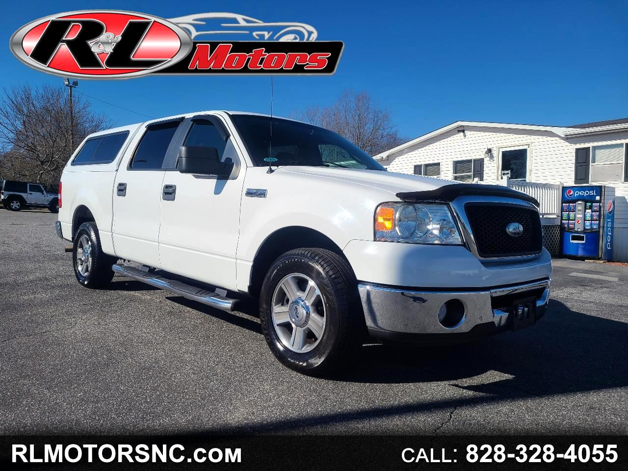 Ford F-150 XLT SuperCrew Short Box 2WD 2008