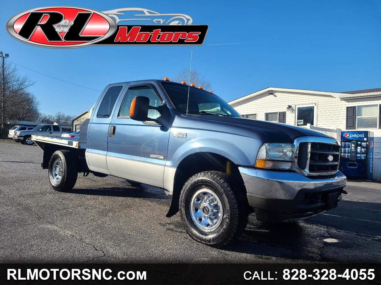 Ford F-250 SD XLT SuperCab Short Bed 4WD 2004