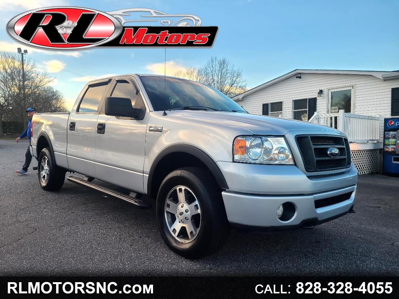 Ford F-150 Lariat SuperCrew 4WD 2007