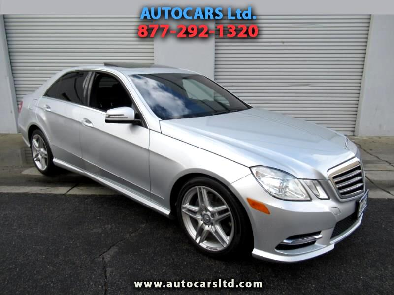 2013 Mercedes-Benz E-Class 4dr Sdn E 350 Luxury RWD