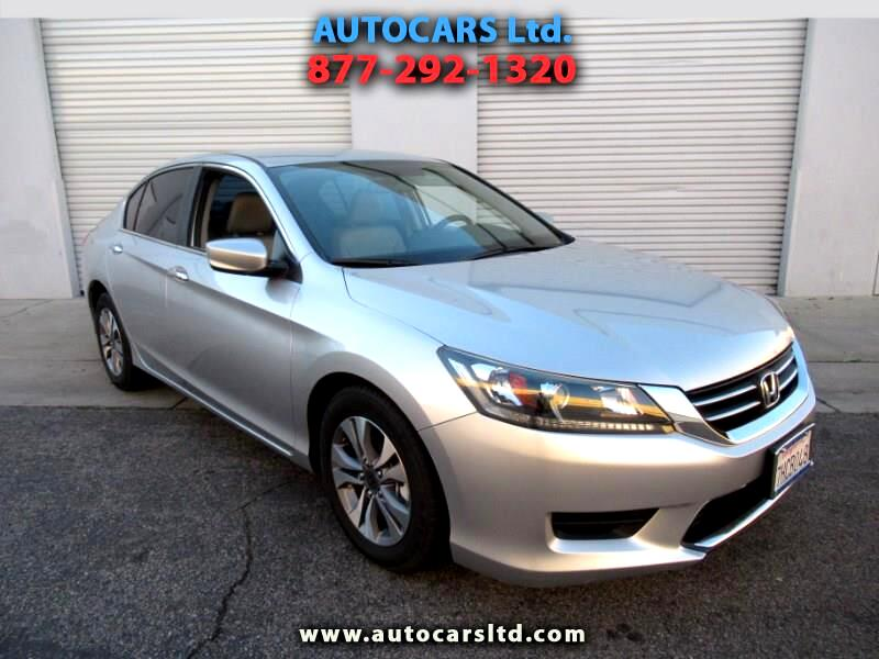 2014 Honda Accord LX-P Sedan AT