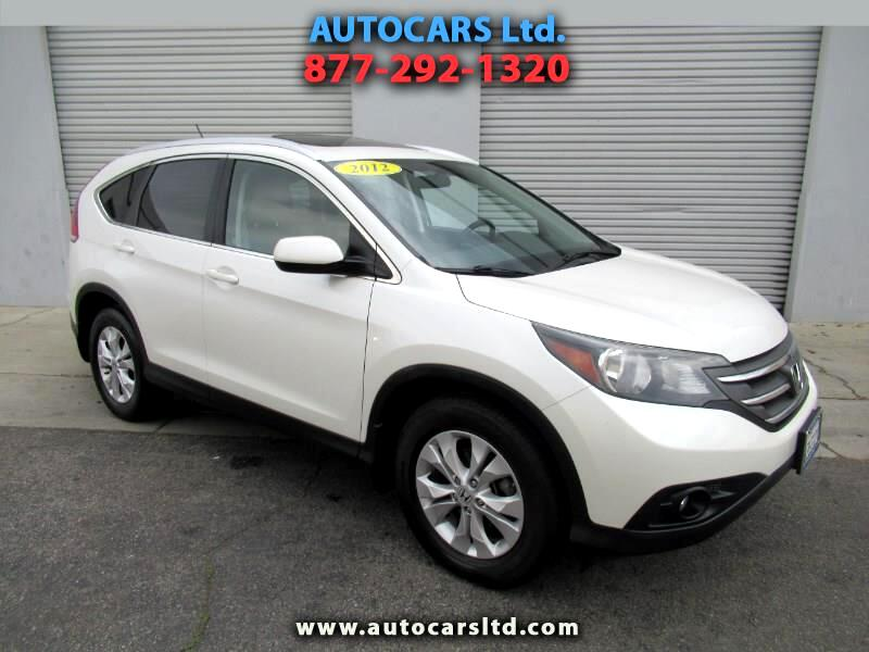 2012 Honda CR-V EX-L 2WD 5-Speed AT with Navigation
