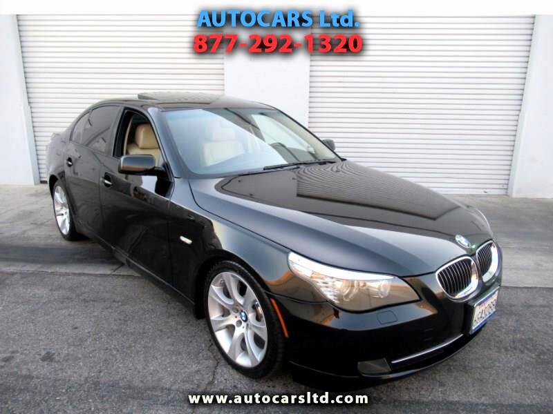 BMW 5-Series 535i automatic 2009
