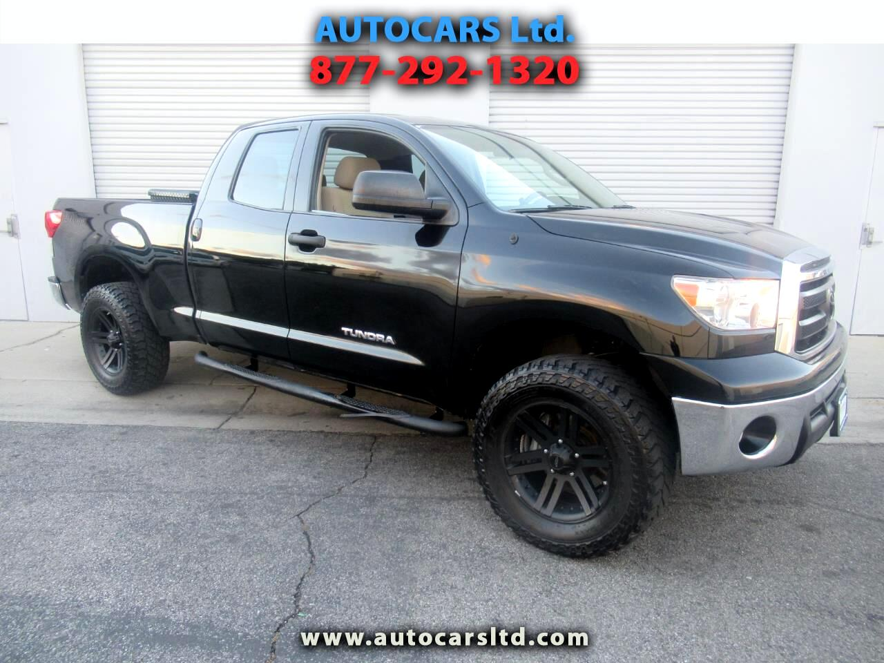 Toyota Tundra 2WD Truck Dbl 4.6L V8 6-Spd AT  (Natl) 2011