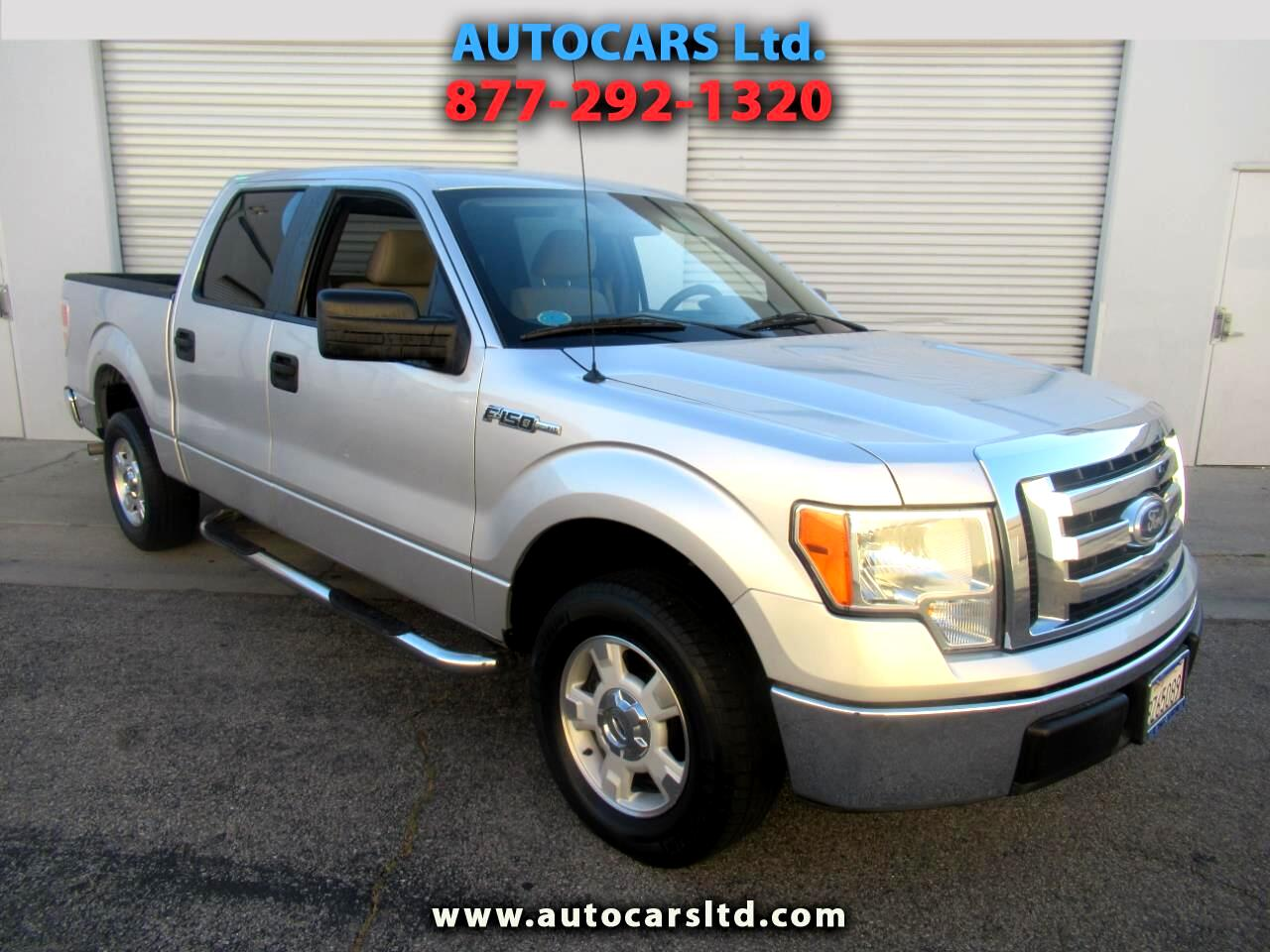 "Ford F-150 2WD SuperCrew 145"" XLT 2010"