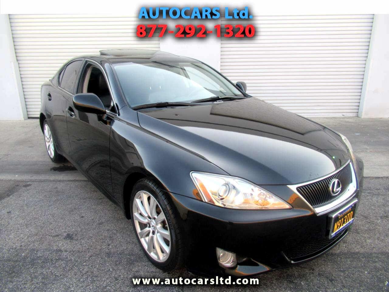 Lexus IS 250 4dr Sport Sdn Auto RWD 2008