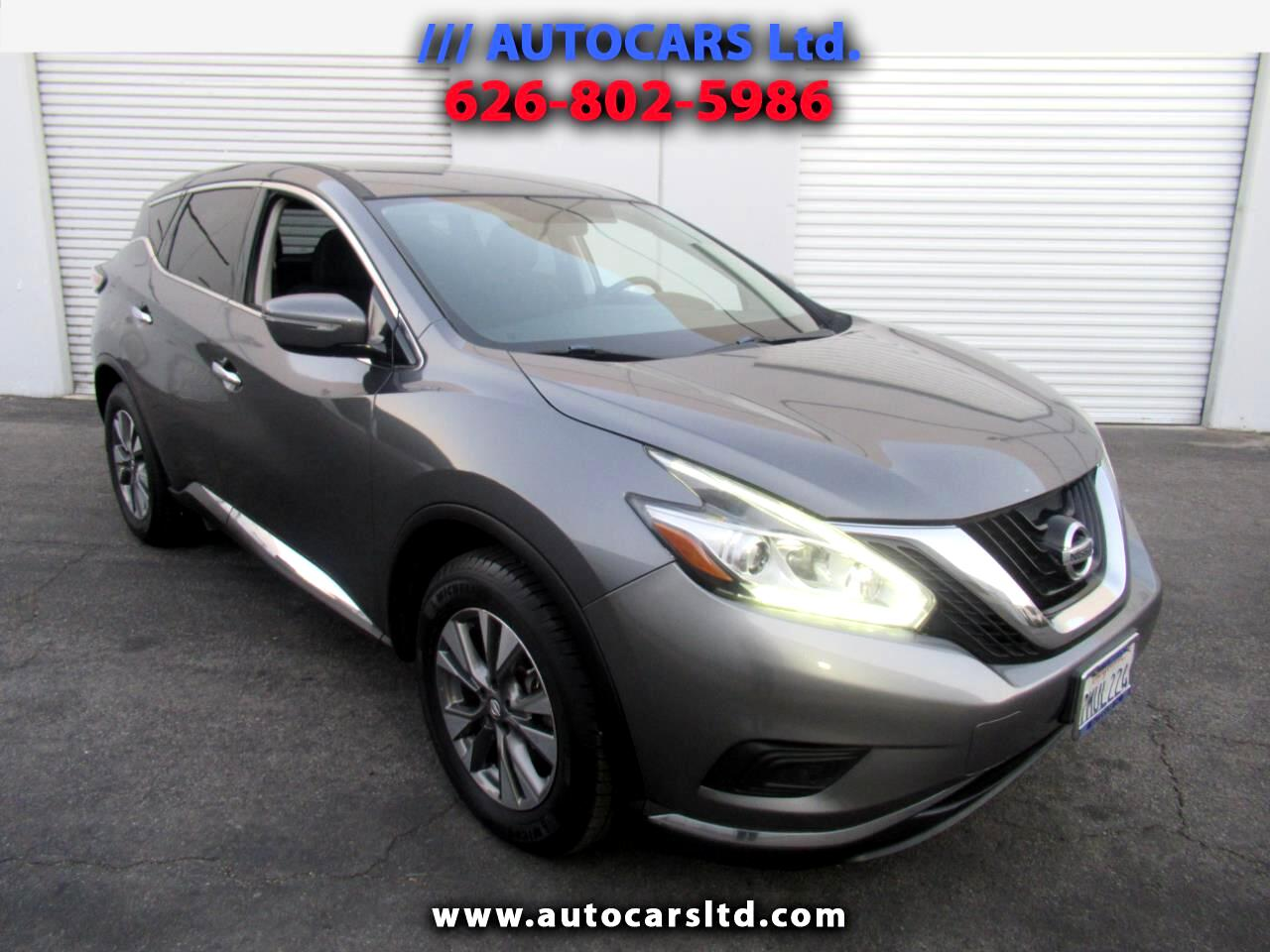 Nissan Murano FWD 4dr SV 2015