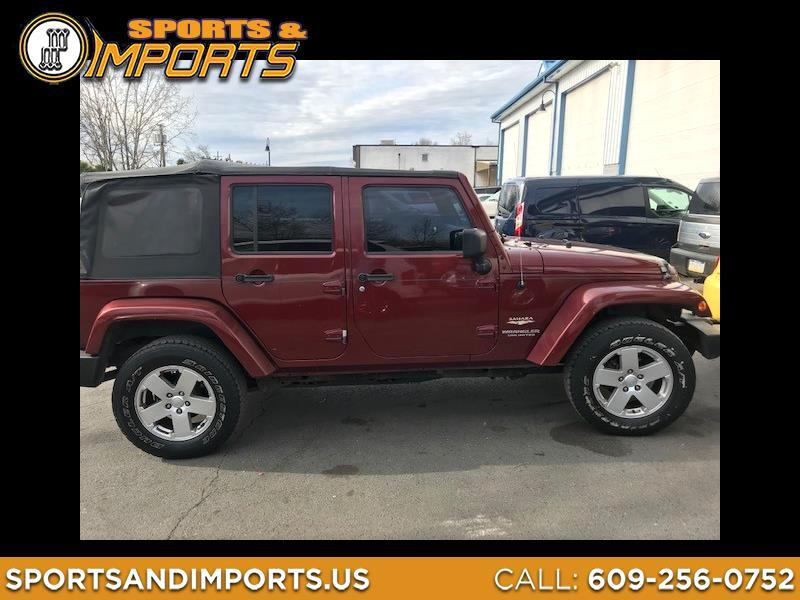 2007 Jeep Wrangler Unlimited Sahara 4WD