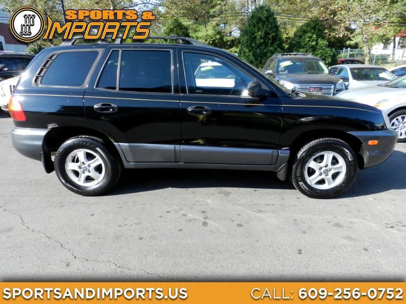 Hyundai Santa Fe GLS 2002