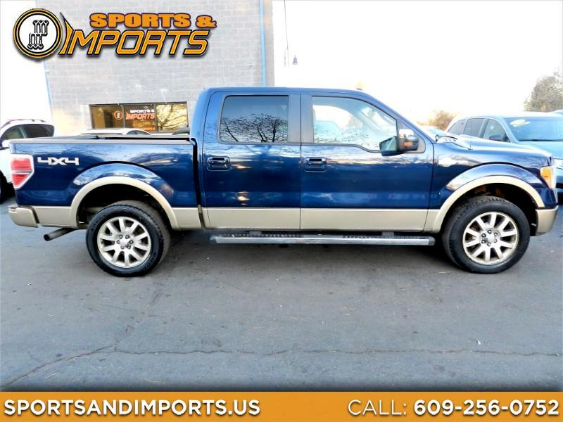 Ford F-150 King Ranch SuperCrew Short Bed 4WD 2011