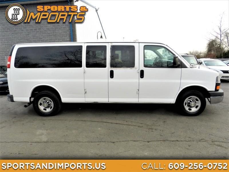 Chevrolet Express LT 3500 Extended 2014