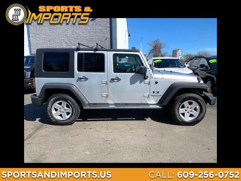 Jeep Wrangler Unlimited 4WD 4dr X 2008