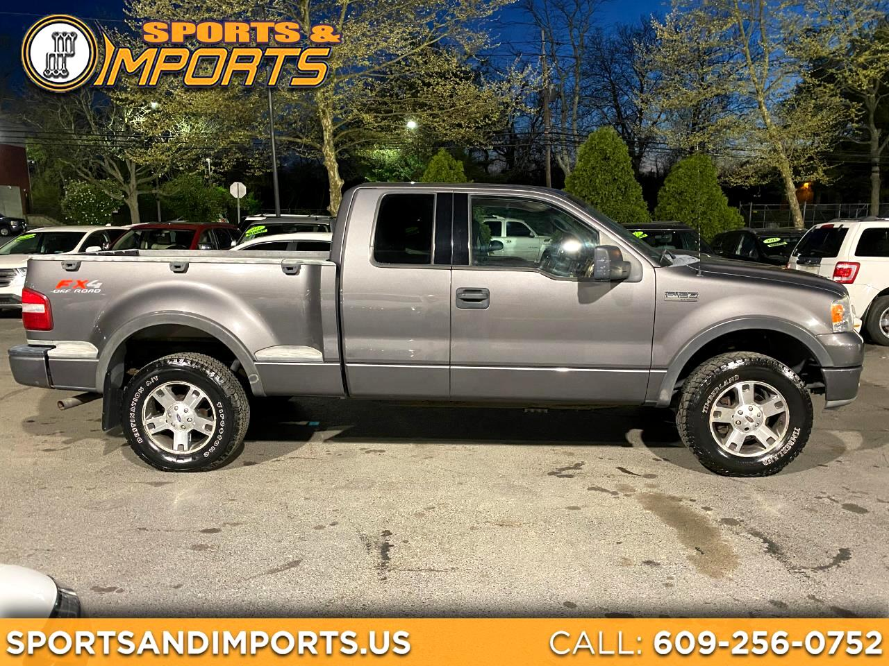 "Ford F-150 Supercab Flareside 145"" FX4 4WD 2004"