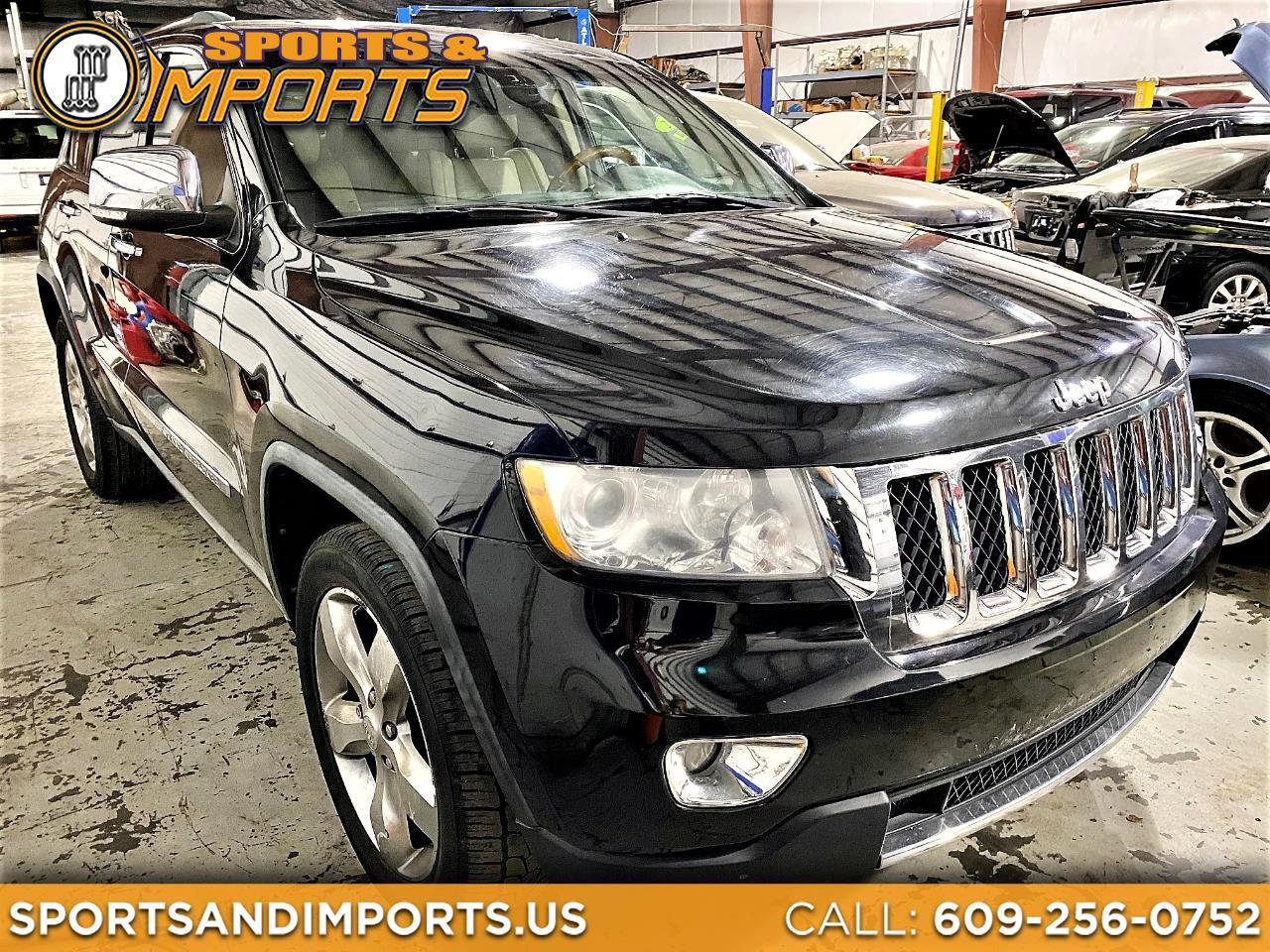 Used 2011 Jeep Grand Cherokee 4wd 4dr Overland For Sale In Trenton Nj 08611 Sports And Imports