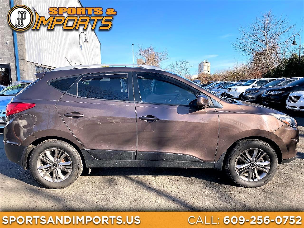 Hyundai Tucson AWD 4dr SE PZEV 2014