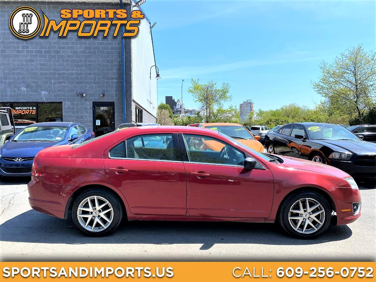 Ford Fusion 4dr Sdn SEL AWD 2010