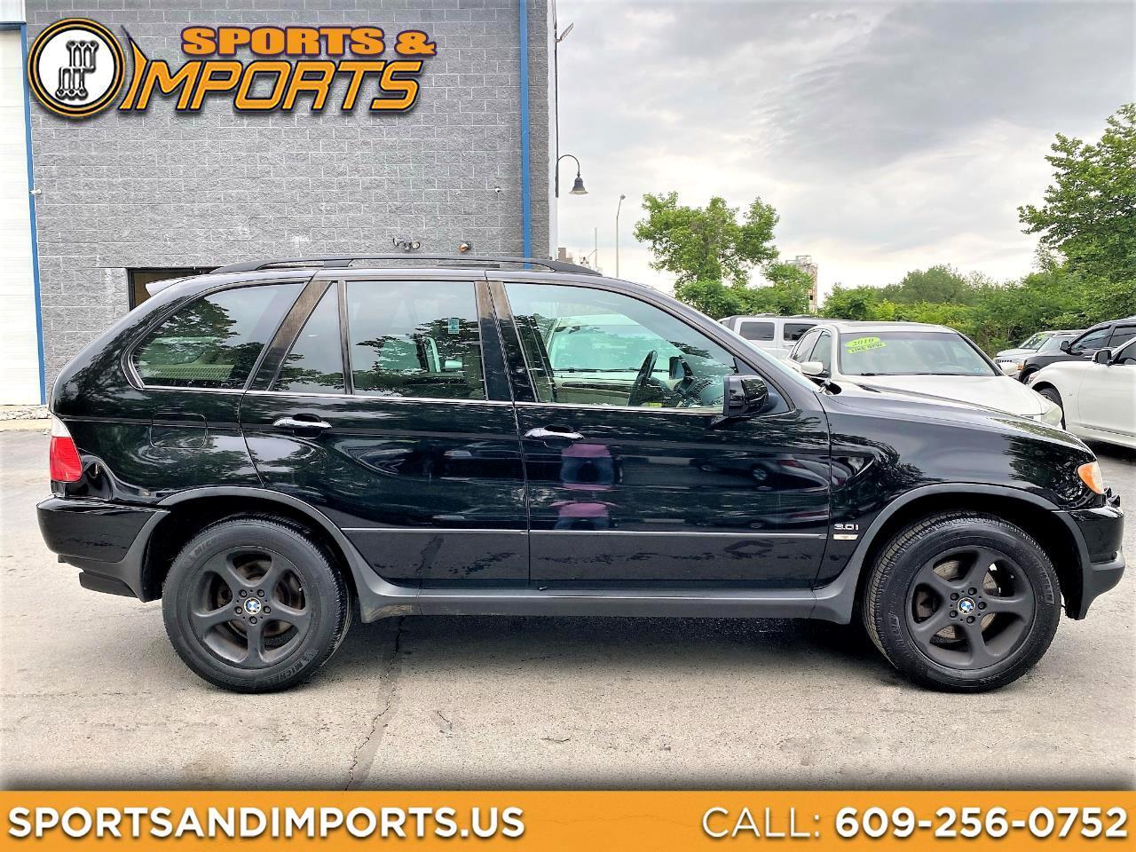 BMW X5 X5 4dr AWD 3.0i 2002