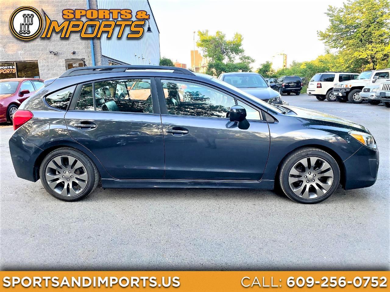 Subaru Impreza Wagon 5dr Auto 2.0i Sport Limited 2012