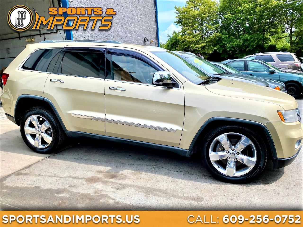 Jeep Grand Cherokee 4WD 4dr Overland Summit 2011