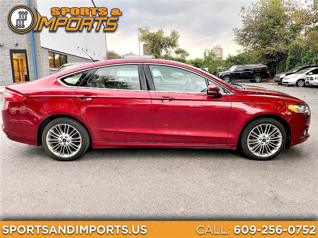 Ford Fusion SE 4D Sedan 2016