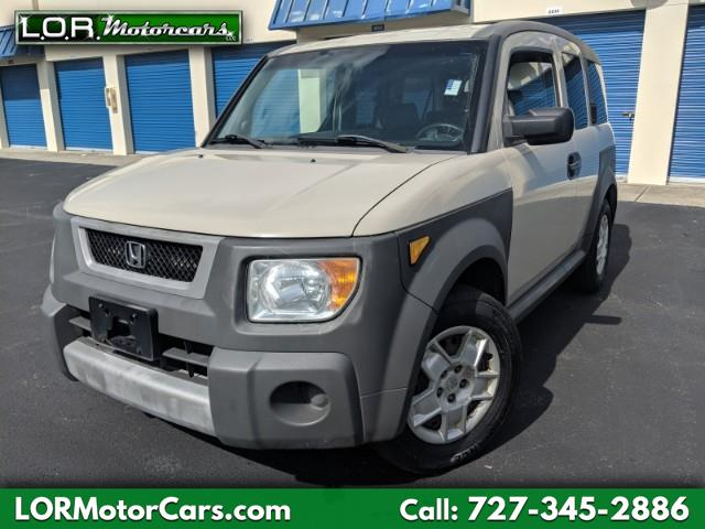 2005 Honda Element LX 2WD 5-spd MT