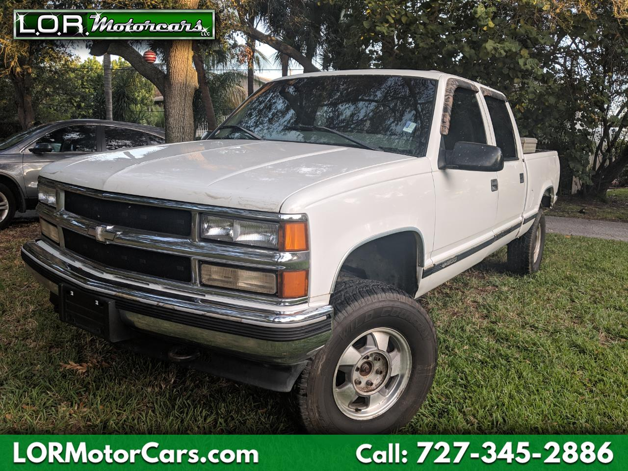 1998 Chevrolet C/K 1500 Reg. Cab W/T 6.5-ft. Bed 4WD