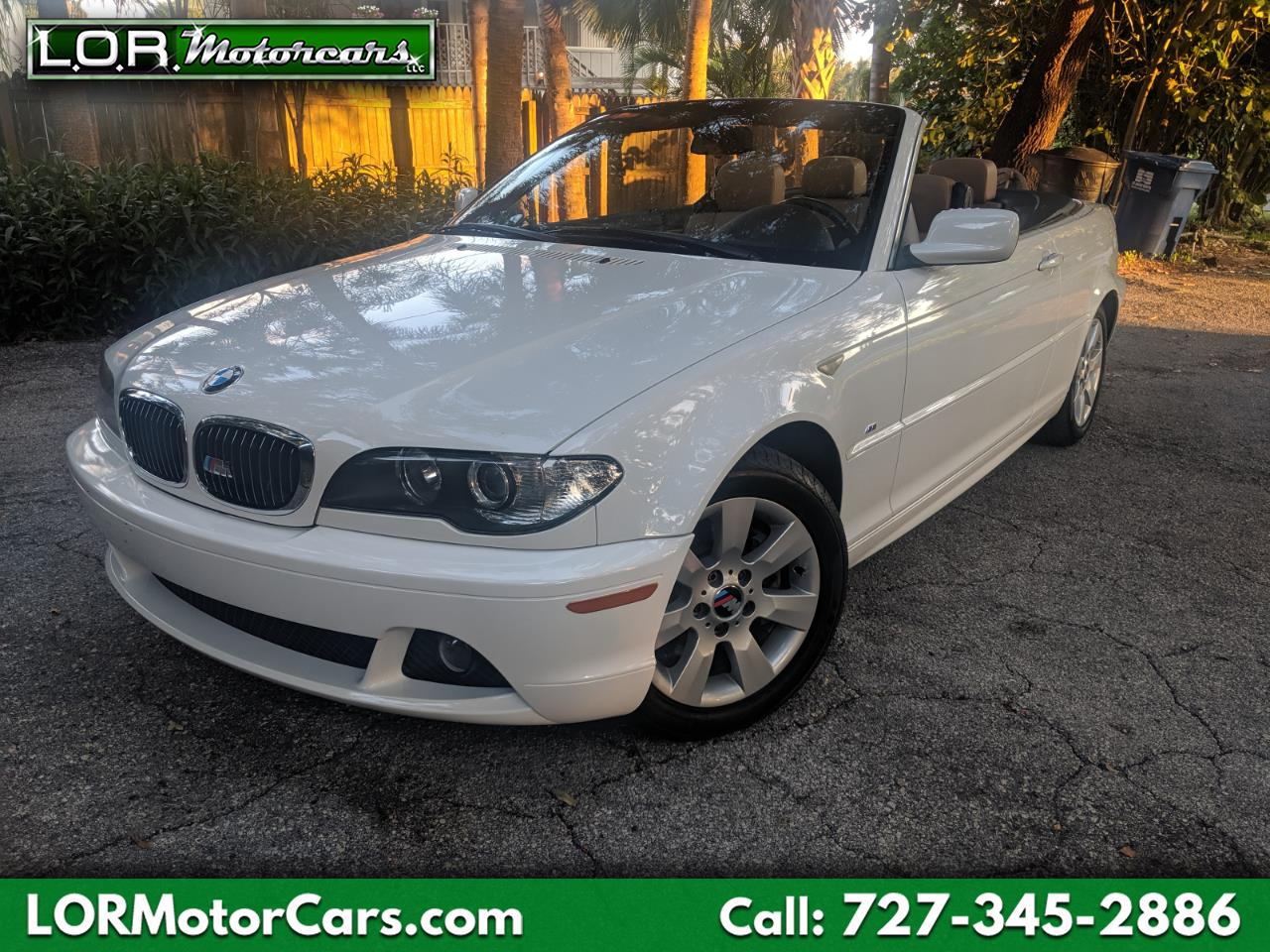 2006 BMW 3-Series 325Ci convertible