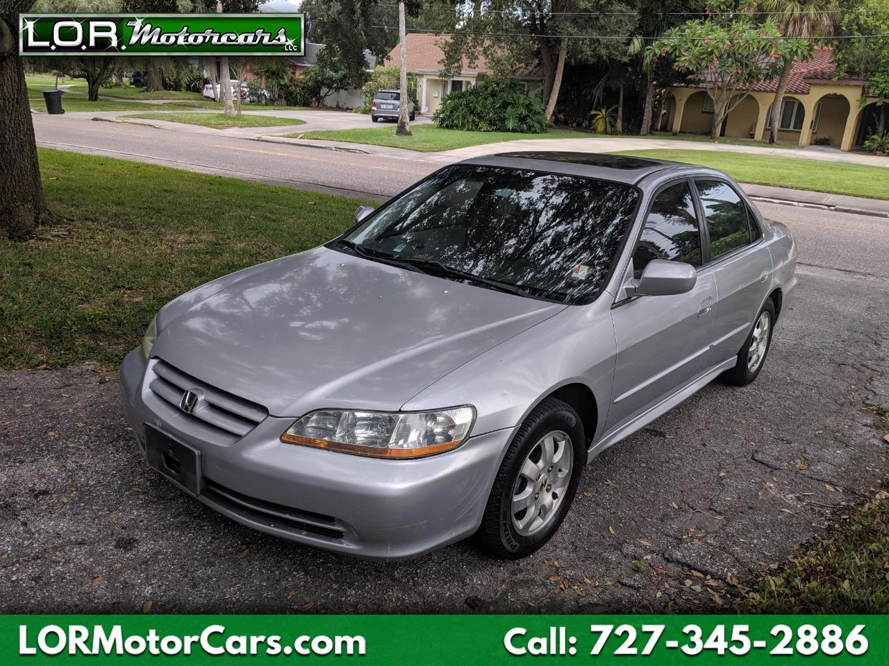 2002 Honda Accord 4dr Sedan EX 5-Spd