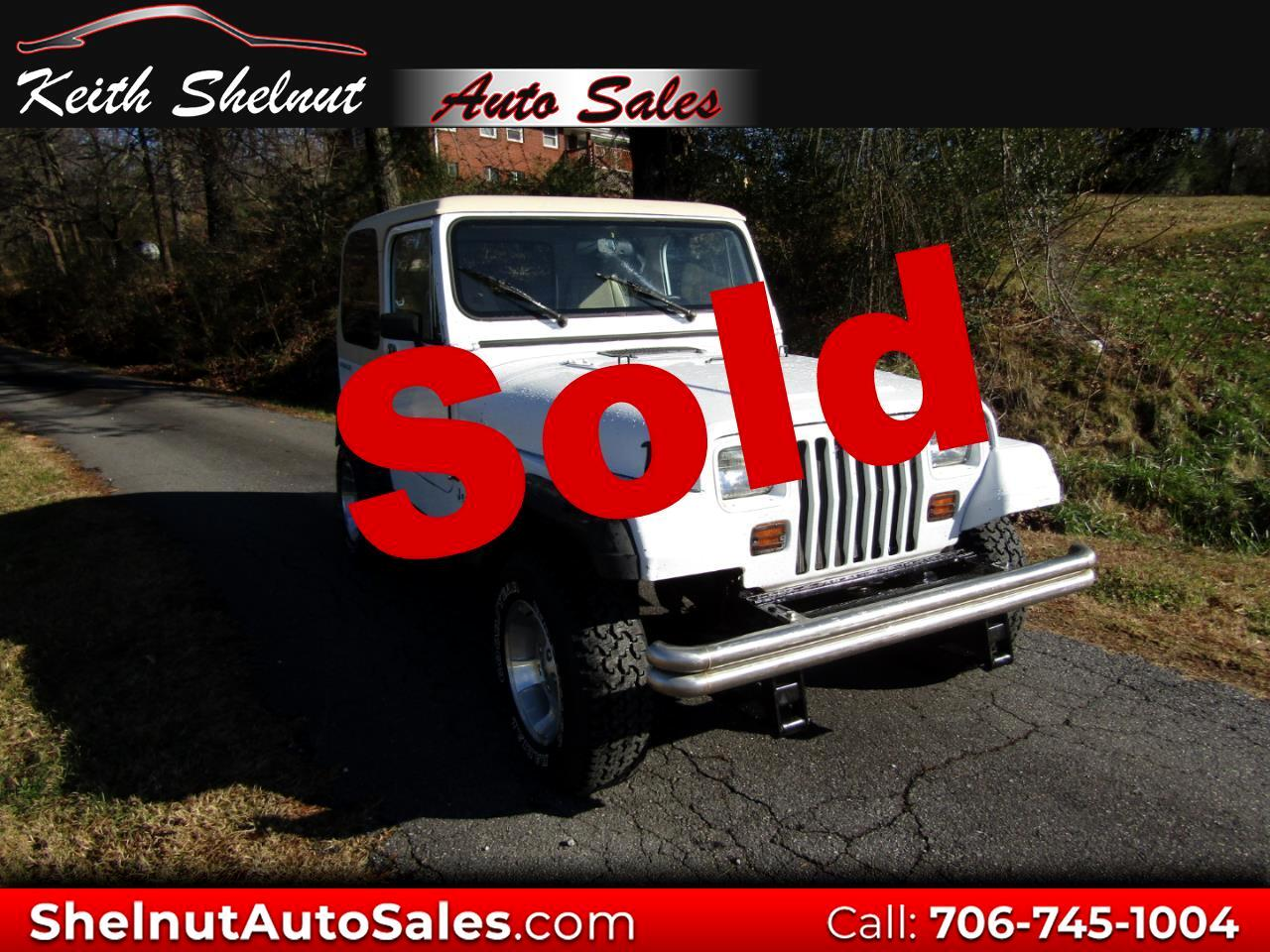 "1991 Jeep Wrangler 2dr ""S"""