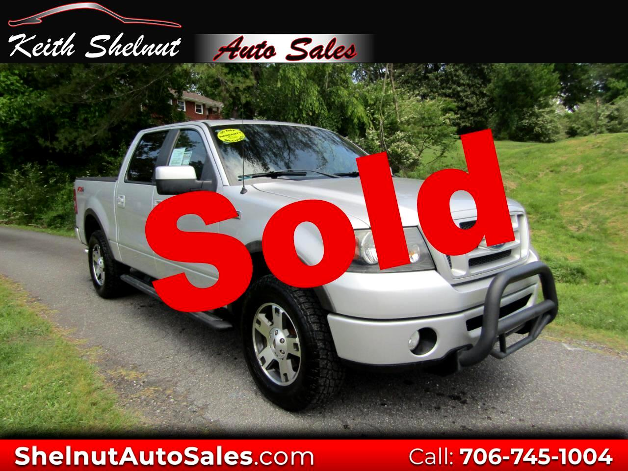 """2008 Ford F-150 4WD SuperCrew 139"""" FX4"""