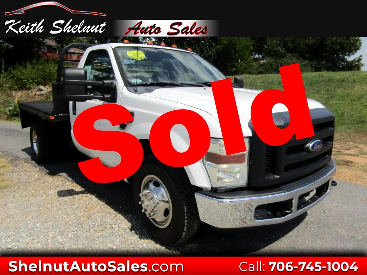 "2010 Ford Super Duty F-350 DRW 2WD Reg Cab 141"" WB 60"" CA XL"