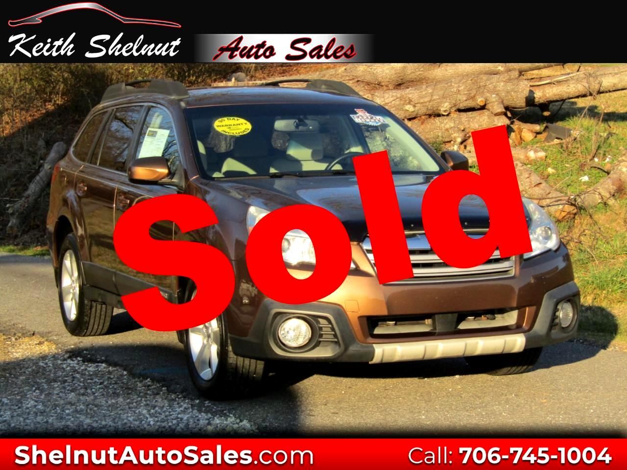 Subaru Outback 4dr Wgn H4 Auto 2.5i Limited 2013