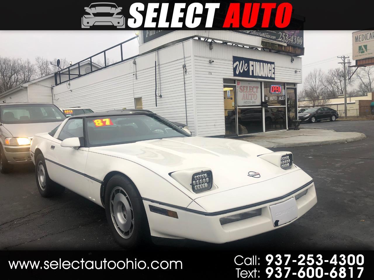 Chevrolet Corvette Hatchback 1987