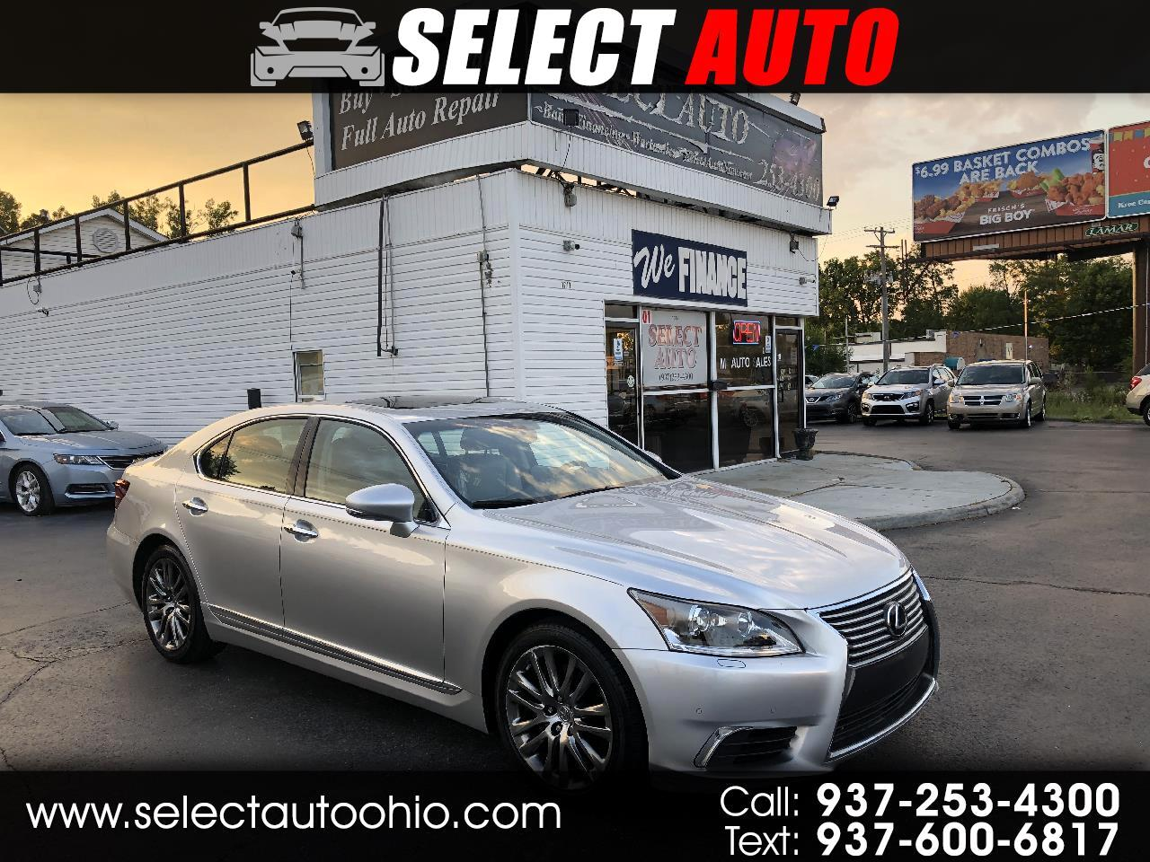 Lexus LS 460 Luxury Sedan 2016