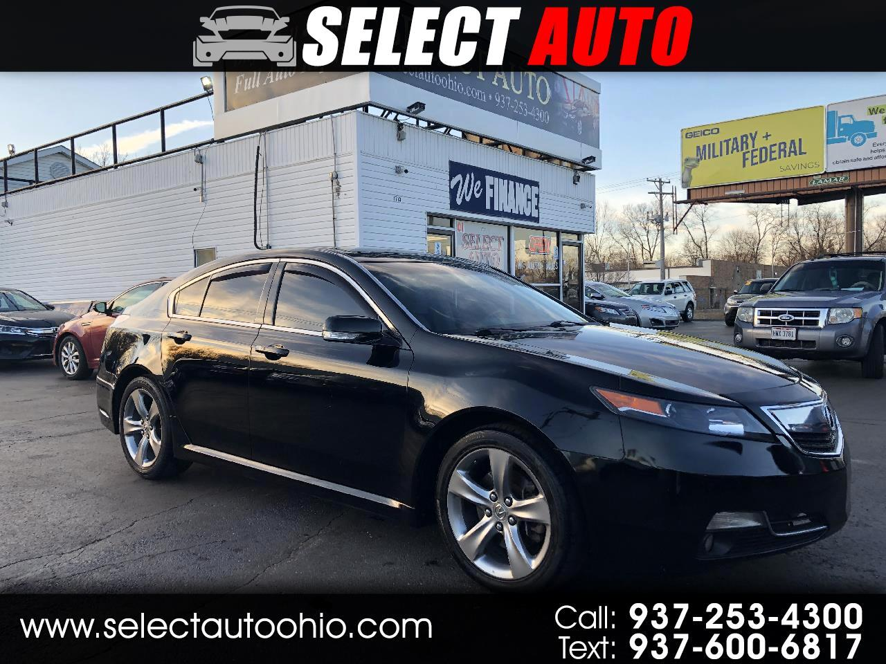 Acura TL 6-Speed AT with Advance Package 2013