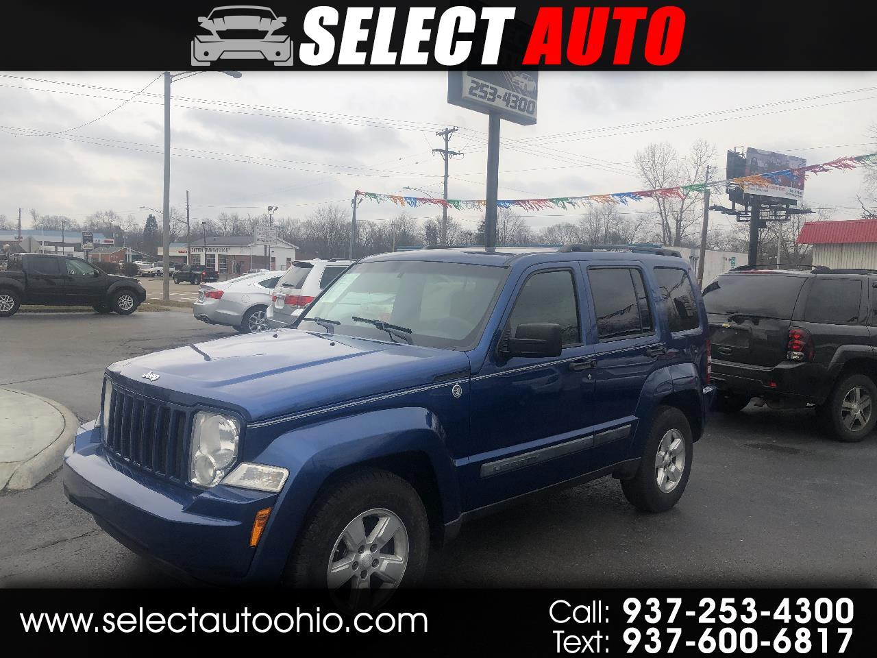 Jeep Liberty 4WD 4dr Sport 2009