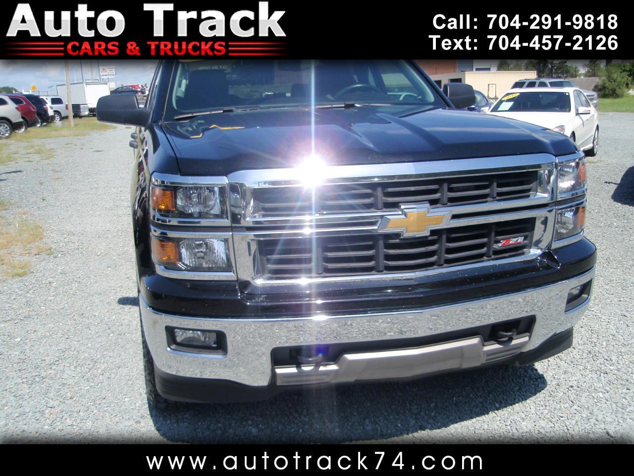 "2014 Chevrolet Silverado 1500 2WD Double Cab 143.5"" LT w/2LT"