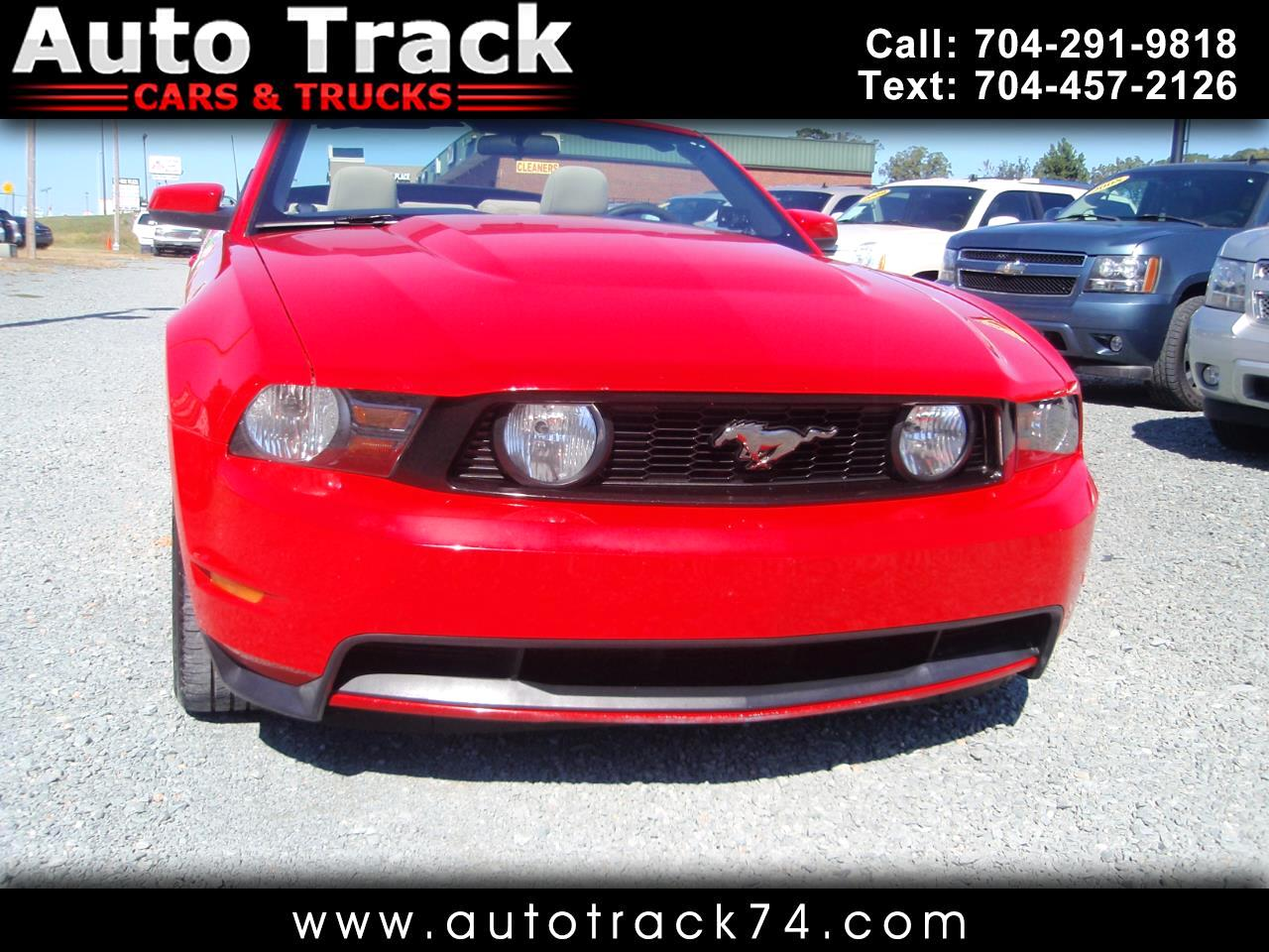 2011 Ford Mustang 2dr Conv GT