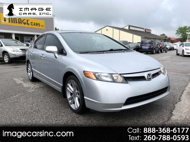 2008 Honda Civic 4dr Sedan 5-Spd