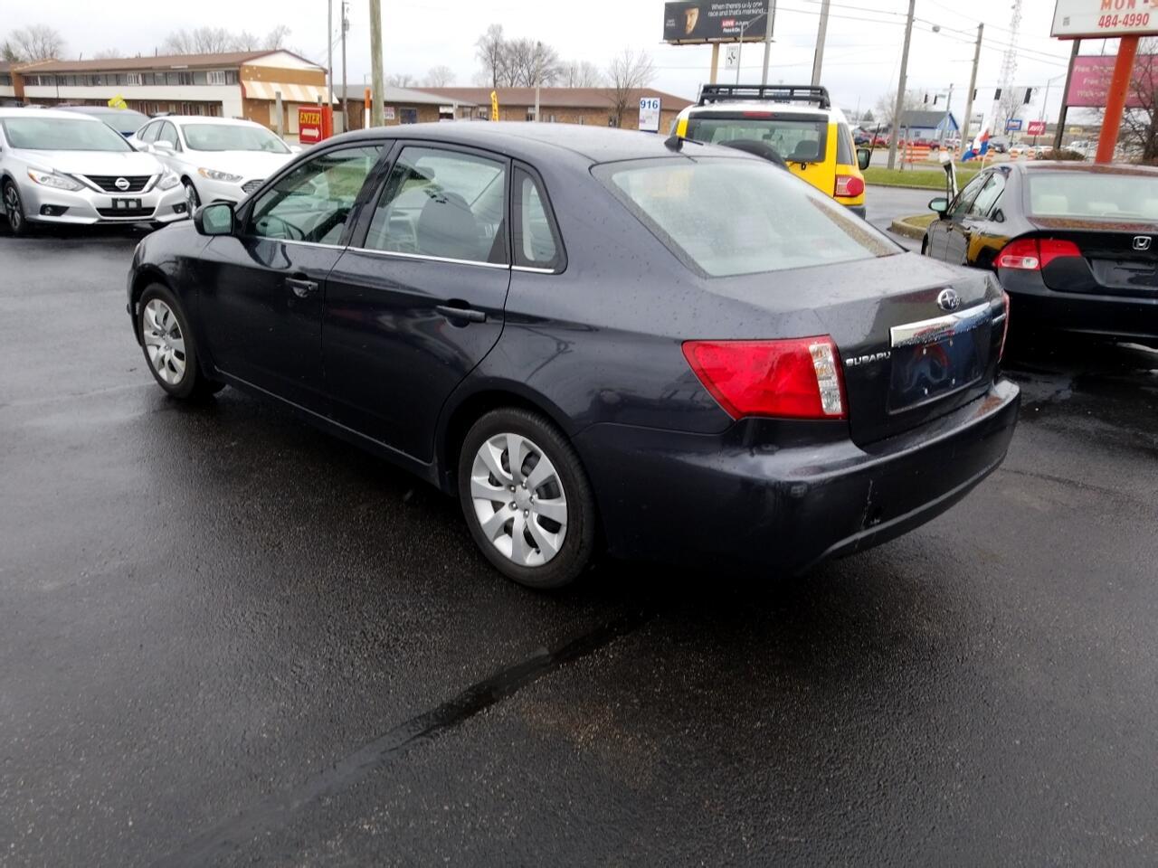 2009 Subaru Impreza Sedan 2.5 i Auto