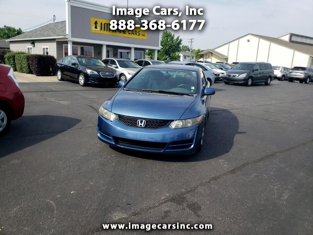 2010 Honda Civic LX Coupe 5-Speed MT